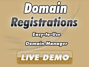 Popularly priced domain name services